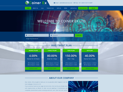 Coiner - [PROBLEMS] [Account Deleted]coiner-ex.com - Min 8$ (4% Hourly for 33 Hours) RCB 80% Thumbnail_11032